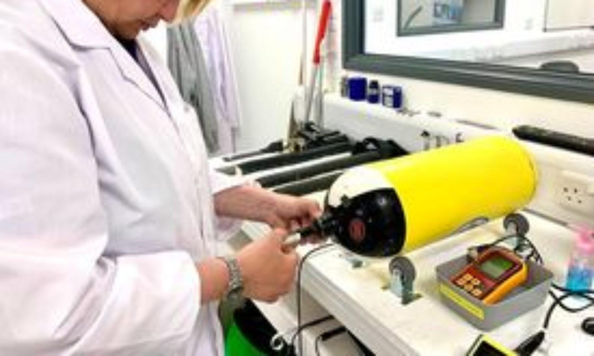 Cylinder Testing Station